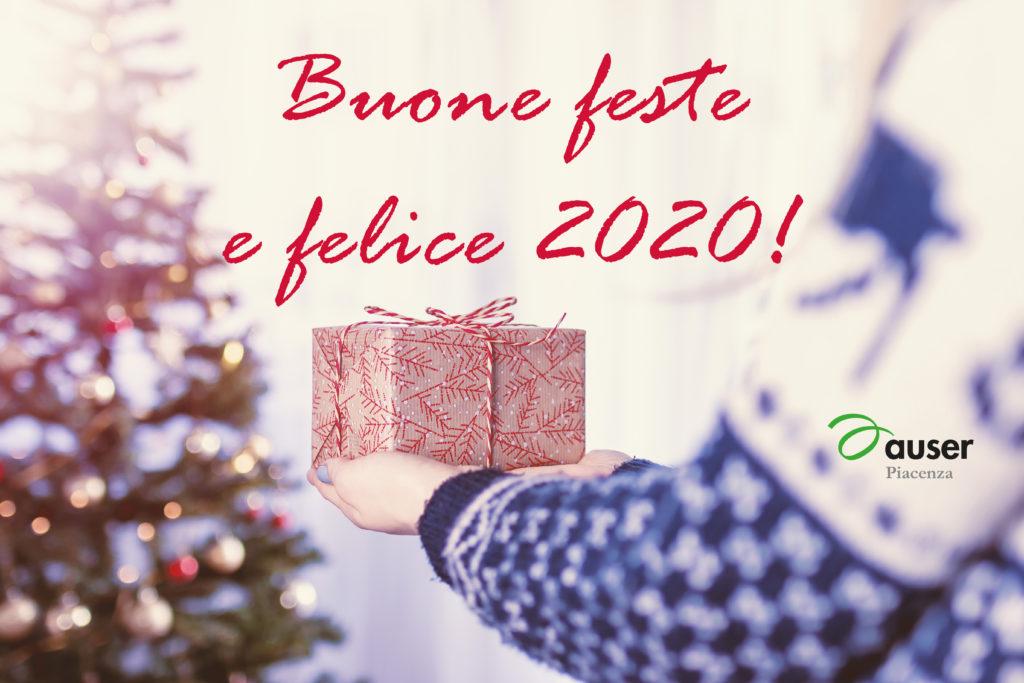 Buone feste e felice 2020