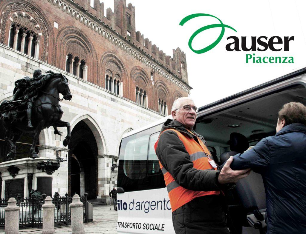 Auser Piacenza volontario Filo d'Argento